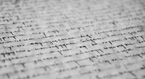 рукописні нотатки